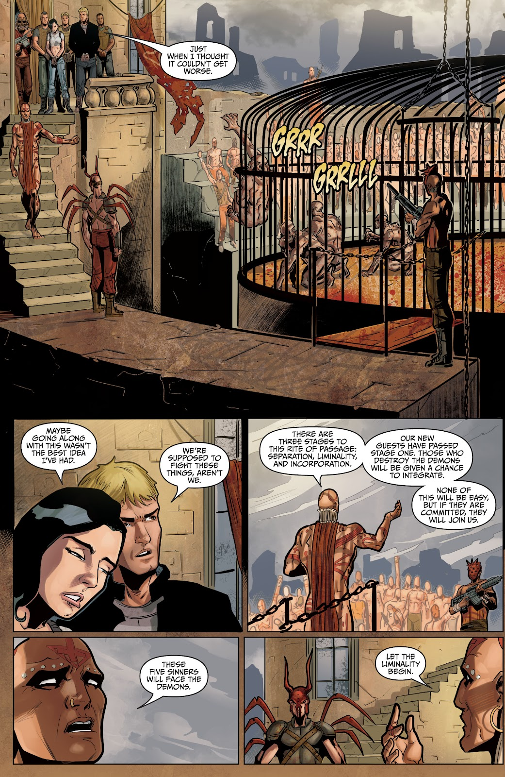 The Courier: Liberty & Death issue 2 - Page 23