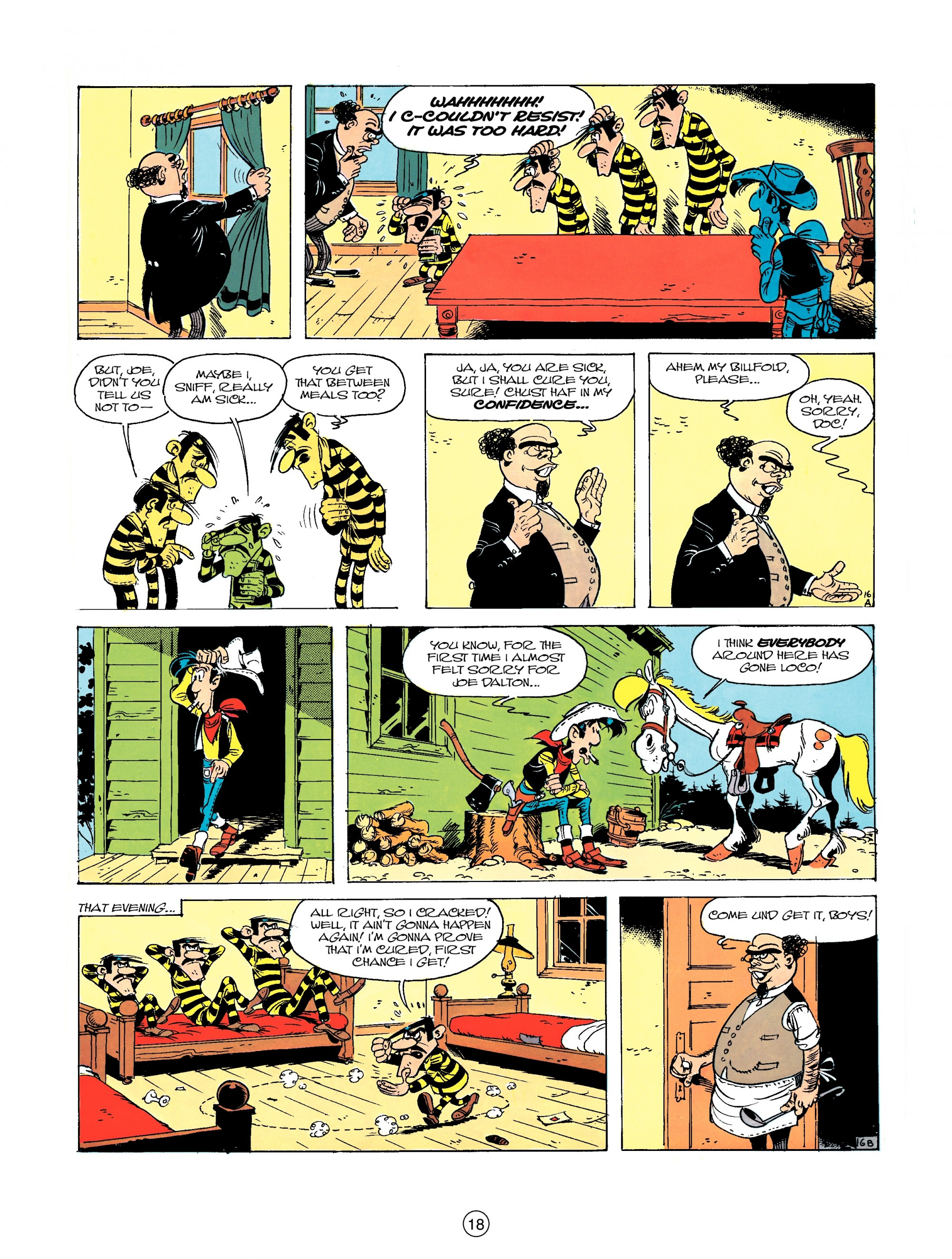 Read online A Lucky Luke Adventure comic -  Issue #23 - 18