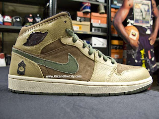 LIKE MIKE CLOTHING  Air Jordan I Armed Forces Pack c95ce26187