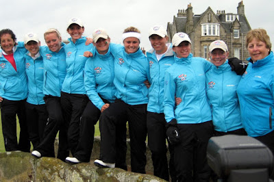 The GB&I 2008 Curtis Cup Team - Click to enlarge