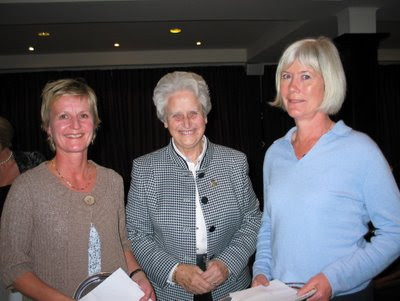 Sheila, President Wendy Cameron and Mary - click to enlarge