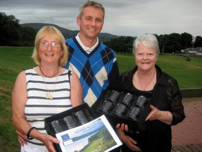 Doreen McConnell,Fraser Innes and Vicki MacLeod