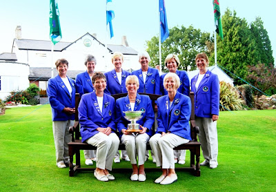 The 2009 Scottish Seniors Team -- Click to enlarge