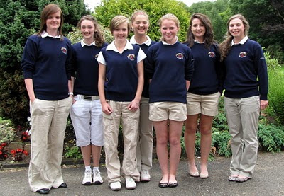 The 2010 Kennedy Salver Team - Click to enlarge
