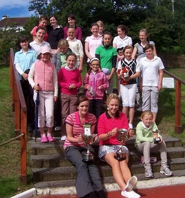 The 2010 Nancy Chisholm Trophy Entrants at West Kilbride