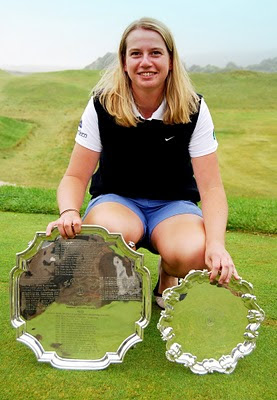 Pamela Pretswell -- THe 2010 British Strokeplay Champion --- Click to enlarge
