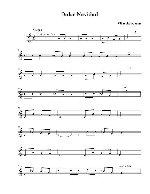Dulce Navidad (Jingle Bells) Letra y acordes cantado por Fran Sinatra. Villancico de Navidad. Partitura para flauta dulce de Dulce Navidad (Jingle Bells Score) en Do M, Fa M y Sol M. Corto Navidad, Dulce Navidad Cortometraje y partituras de Villancicos por Navidad