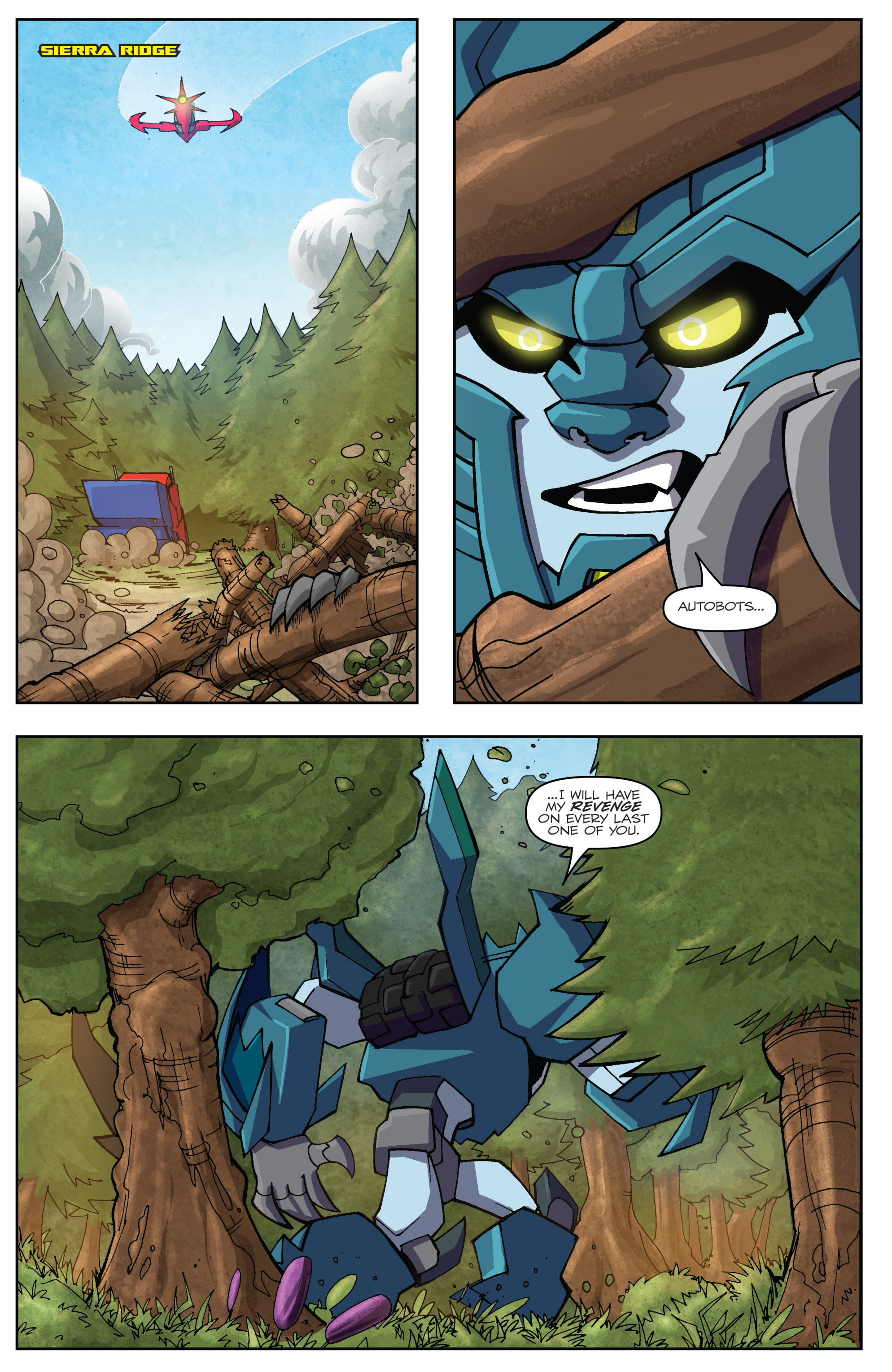 Read online Transformers: Robots In Disguise (2015) comic -  Issue #5 - 8