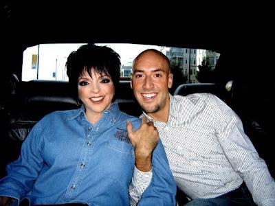 Liza Minnelli STEPPING OUT   : Liza Minnelli & Victor Cembellin