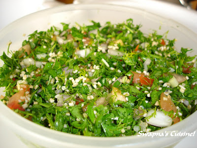 Tabbouleh / Cracked Wheat & Herb Salad
