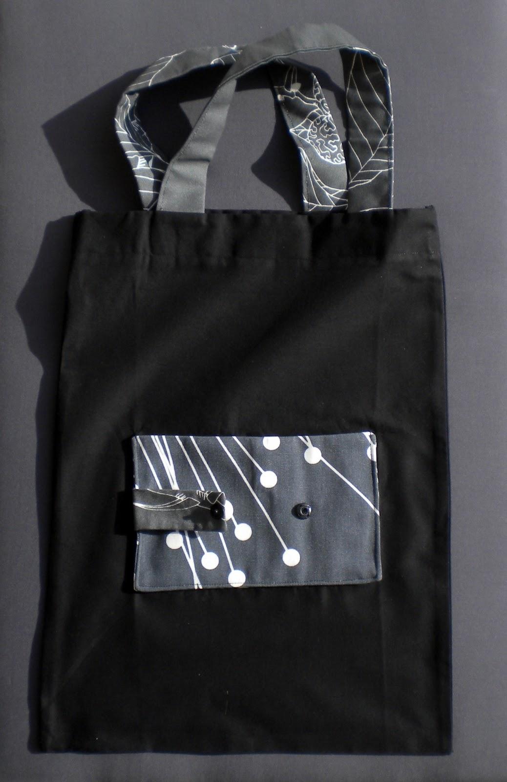 pik toile un sac pliable pour faire les soldes. Black Bedroom Furniture Sets. Home Design Ideas