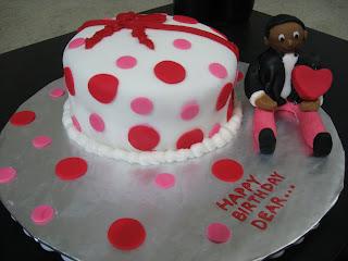 Kavya S Kitchen Fondant Cake Hubby S Birthday Cake