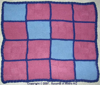 16 square afghan