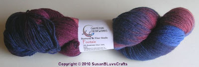 Chamelion Colorworks yarn - Footsies berry cobbler