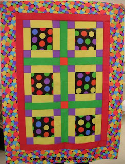 Not Wonky quilt