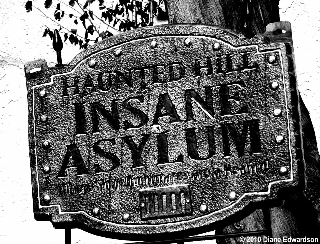 Corralitas Red Car Property: Corralitas Drive: Insane Asylum