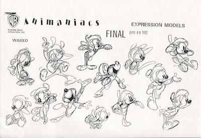 J Tippins: Animaniacs Model Sheets