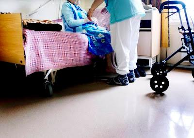 lite aktivitet på sykehjem