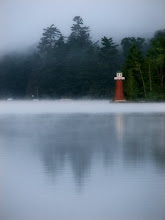 Nearby Lighthouse on Fourth Lake