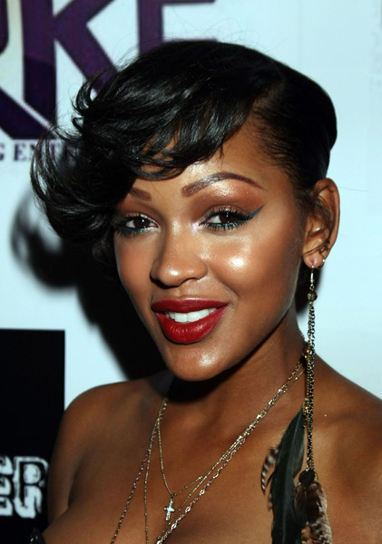"""Meagan Good attends """"The Booster Club"""" Los Angeles ..."""