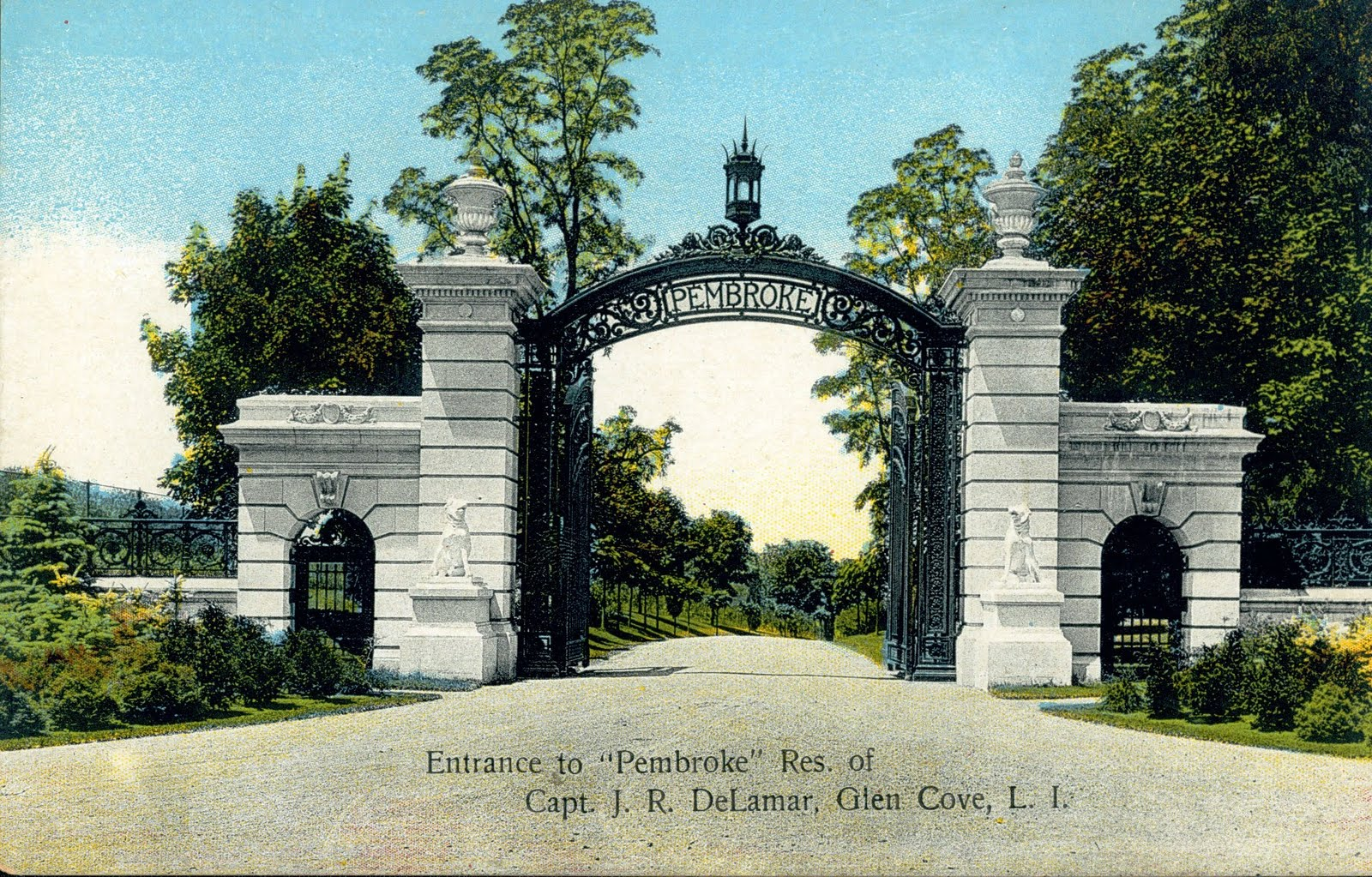 Mansions Of The Gilded Age Gold Coast Gates