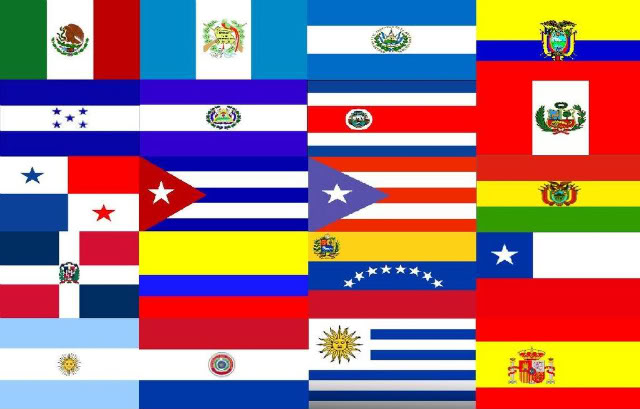 Latin Countries Flags Game 112