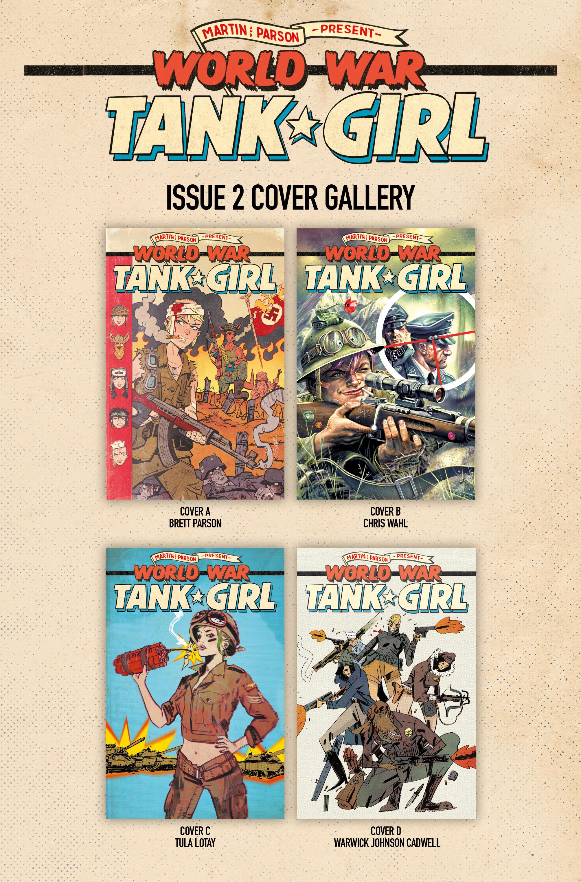 Read online Tank Girl: World War Tank Girl comic -  Issue #2 - 23