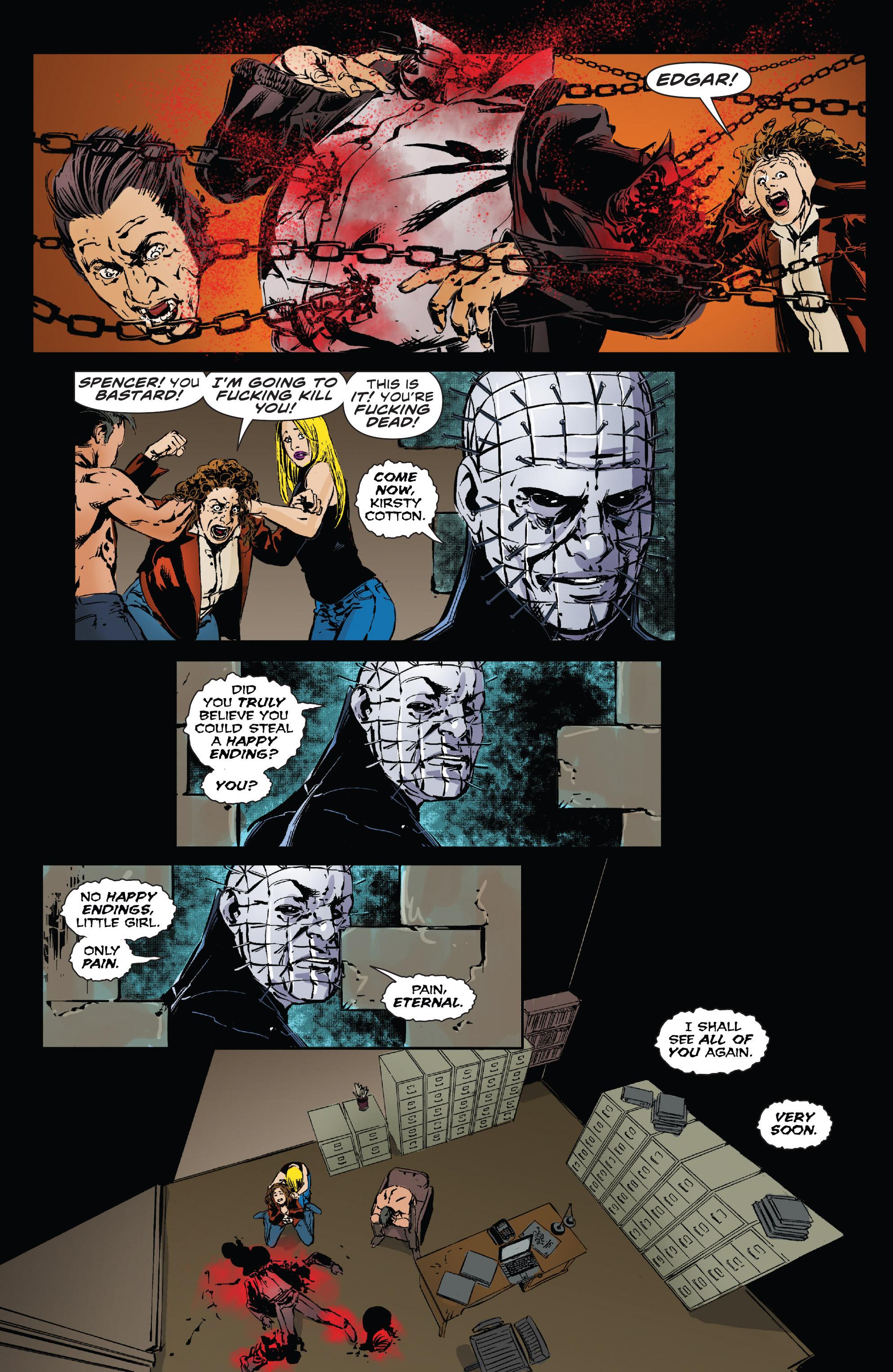 Read online Clive Barker's Hellraiser: The Dark Watch comic -  Issue # TPB 3 - 127