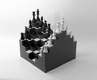 الحياه مثل لوحة الشطرنج