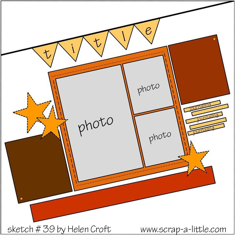 scrappy happy mom scrap a little guest design spot. Black Bedroom Furniture Sets. Home Design Ideas