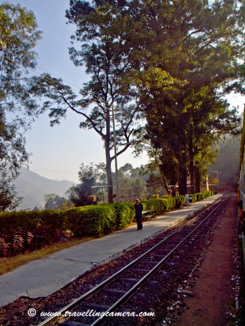 The 100-km long Kalka-Shimla narrow gauge railway track is an amazing engineering example which opens gates for actual hilly route through multiple bridges, hills, valleys, rivers and tunnels. The rail motor car of 1927 vintage which had the unique distinction of bringing Mahatma Gandhi in 1945 to Shimla for talks with Viceroy Wavell about British plans for leaving India, is still rail worthy and remains a tourist's delight....Going back to 1903, it is an engineering marvel, with 103 tunnels and over 700 non-girder bridges in a distance of only 100km. The route has longest tunnel, midway at Barog, which is 3800 feet long. More than two-thirds of the entire track is on curves, some as sharp as 45 degrees.Beside the sleek rail services, the train stops at or run past Jabli, Dharampur, Barog, Solan, Salogra, Kandaghat and Taradevi, to name a few of other railway stations on route. There are 12 seven coach trains and two of rail-motor cars to serve passengers...  Shivalik Deluxe Express, popularly known as the narrow-gauge Shatabdi, is most popular.Just see in these pictures... this is how it looks and there are lot many curves on the way... Luxury Trains includes- Shivalik Express, Shivalik Palace Ordinary Trains includes- Himalayan Queen, Shimla Kalka - Passenger Train -, Shimla - Kalka Mail, Mixed Train- Attached Honeymoon Coach. Himachal Pradesh enjoys the 2 narrow gauge Rail tracks - Kalka/ Shimla and Pathankot/ Jogindernagar. Kalka/ Shimla mini trains run on these treks popularly called 'Toy Trains' by the tourists.