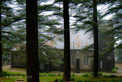 Posted by Ripple (VJ) : The Gothic stone building of the Church was constructed in 1852. The site also has a memorial of the British Viceroy Lord Elgin, and an old graveyard. The church building is also noted for its Belgian stained-glass windows donated by Lady Elgin.: Mcleoganj, Mcloedgaj, Dharmshala, Himachal Pradesh, Saint John Chruch, India, British times, ripple, Vijay Kumar Sharma, ripple4photography, Frozen Moments, photographs, Photography, ripple (VJ), VJ, Ripple (VJ) Photography, Capture Present for Future, Freeze Present for Future, ripple (VJ) Photographs , VJ Photographs, Ripple (VJ) Photography : St. John's Church is really a beutiful thing to visit in Mcleodganj. It somes on the way to Mcloedganj to Dharmashala on left side. Don't miss it and spend some time here...