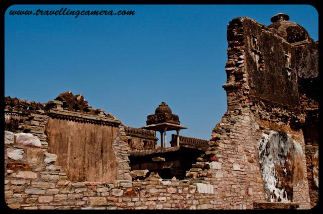 Rana Kumbha Palace @ Chittorgarh Fort: Posted by Vibha Malhotra at www.travellingcamera.com :I must admit this is one of the best fort I have ever seen. It is clean enough and is an ideal setting for any horror movie. Thats just how I like forts. The scarier, the better. More passageways, crumbling walls, staircases to nowhere add to the charm.The most imposing monument inside the fort is the Rana Kumbha Palace which has many legends associated with it. This monument was built originally by the founder of the House of Mewar, Bappa Rawal in 734 AD, it was renovated by Maharana Kumbha (1433-1468). The famed Lord Krishna devotee Mira Bai lived here once. Maharani Padmini performed the legendary Jauhar (The act of suicide by fire to save one's honor) here with her 700 female followers.Looking at the ruins now, one can probably imagine that this place is haunted by the ghosts of its past. I wouldn't spend a night here alone at any cost.We had loads of fun climbing on the tumble-down walls and exploring passage ways. And ideal place to run into a mystery.Even though the fort is old, the parts that are still standing look sturdy. And there are so many doorways, windows looking down from dark chambers that it sends shivers down one's spine.Even within the Rana Kumbha Palace, there were structures that could have been temples, stables, cowsheds etc. It was huge.This was a place where one could spend a whole day just walking and still not cover all the chambers and passages. You could not make out what passage led to which terrace. Bhool Bhaluaiya.In its days of glory, the palace must have been atleat 4 story high. However, some of those chambers high up are not accessible now. I wonder what secret they hide.This courtyard seems like the place where a crowd of over 700 ladies could drown themselves in fire. Shivers!!!!A view of the fort wall from one of the terraces of the Rana Kumbha Palace. A must visit place if you have an active imagination and love being spooked.Rana Kumbha Palace, Chittorgarh, Chittaurgarh, Chittorgarh, Chittaurgarh, Rajasthan