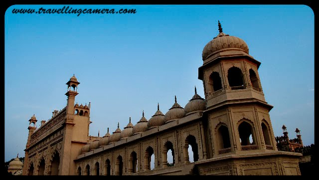 A tryst with the city of nawabs Lucknow : by Anchita Dogra: Part-1 : Posted by Anchita Dogra on www.travellingcamera.com : Bara Imambara...Bara Imambara is an imambara complex in Lucknow which is capital of largest state of  India ; Uttar Pradesh... It was built by Asaf-ud-daulah, Nawab of Lucknow, in 1784... It is also called the Asafi Imambara... Bara means big, and an imambara is a shrine built by Shia Muslims for the purpose of Azadari. The Bara Imambara is among the grandest buildings of Lucknow... Check out more details about Imambara @ http://en.wikipedia.org/wiki/Bara_Imambara Cathedral - Lucknowites' favorite haunt on Christmas evesTunde Kababi- The world famous non veg shop in Lucknow, Utter Pradesh, INDIA Thats the roof of a famous mall- Saharaganj in Lucknow... They say its d sky dat you see through the roof up there but I could never see the stars even after staring at it for hours :O The available multiple modes of public transport in the city are taxis, city buses, cycle rickshaws, auto rickshaws and CNG Buses. CNG has been introduced recently as an auto fuel to keep the air pollution in control. The city bus service is run by Lucknow Mahanagar Parivahan Sewa... A scene you will see in the movie pakeezah :) ... Asfi Mosque @ Lucknow in INDIA... Aminabad, a quaint bazaar like Delhi's Chandni Chowk, is situated in the heart of the city. It is a large shopping centre that caters to a wide variety of consumers. Chowk and Nakhhas are markets in the old Lucknow area where you can get a feel of traditional Lucknow. .. On a recent visit back home, I got the chance to capture some of the fond memories of my hometown Lucknow ... Here are some of those Photographs...Entrance to the city - Rumi Gate. Its a replica of a gate in Rome... The Rumi Darwaza served as the entrance to the city of Lucknow; it is 60 feet high and was built by Nawab Asafuddaula (r. 1775-1797) in 1784. It is also known as the Turkish Gateway, as it was erroneously thought to be identical to the gateway at Constantinople. It is the west entrance to the Great Imambara and is embellished with lavish decorations.Satkhanda- Still Appeals... A putrefying of 67 meter red-brick watchtower, located just opposite to the Hussainabad Imambara is a splendor of medieval architecture. The structure shows a curios blend of French and Italian style structural designs...  The view of Clock Tower from Picture Gallery ... Lucknow Clock Tower is located very near to the Rumi Darwaza. Built in 1881 by the British, this 67 m-high clock tower on the river Gomti is said to the tallest clock tower in India. The tower features European style artwork. The part of the clock is built of pure gunmetal... Chota Imambara... Chota Imambara or the Husainabad Imambara... it displays a curious mixture of Charbagh, Persian and Indo-Islamic structuThis neatly designed monument where a placid stream runs through middle of the garden provides the miracles of artistic brilliance and structural grandeur... Interiors are ornamented with Arabic calligraphy and intricate glass works... Often called as the palace of lights, this Imambara shines its best during the eve of Muharam when the entire edifice would be lit with ornamental lamps and Belgium chandeliers.ral designs...Roza Shahzadi- The reclining palace for the princesses inside Bada Imambara...  The British-built architectural sights in Lucknow include the Vidhan Sabha (State Legislative Assembly), the Clock Tower and the Charbagh Railway Station, with its distinctive domes, arches and pillars... Lucknow is placed among the fastest growing cities of India and is rapidly emerging as a manufacturing, commercial and retailing hub. This unique combination of rich cultural traditions and brisk economic growth provides Lucknow with an aura that refuses to fade away. Lucknow has developed as a metro city of Uttar Pradesh and is second largest in the state, the biggest city is Kanpur....Located in what was historically known as the Awadh  region, Lucknow has always been a multicultural city. Courtly manners, beautiful gardens, poetry, music, and fine cuisine patronized by the Persian-loving Shia Nawabs of the city are well known amongst Indians and students of South Asian culture and history.. Lucknow is popularly known as The City of Nawabs. It is also known as the Golden City of the East, Shiraz-i-Hind and The Constantinople of India....