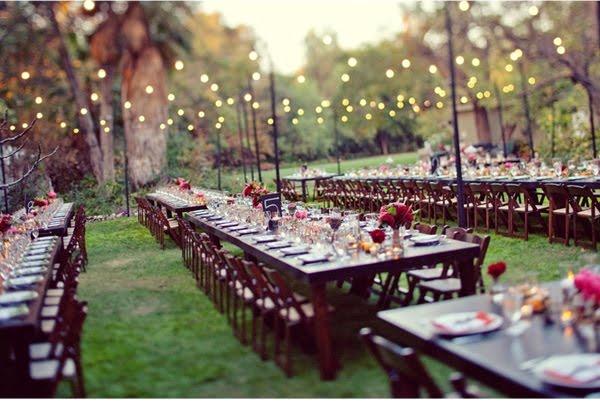 outdoor wedding decorations ideas