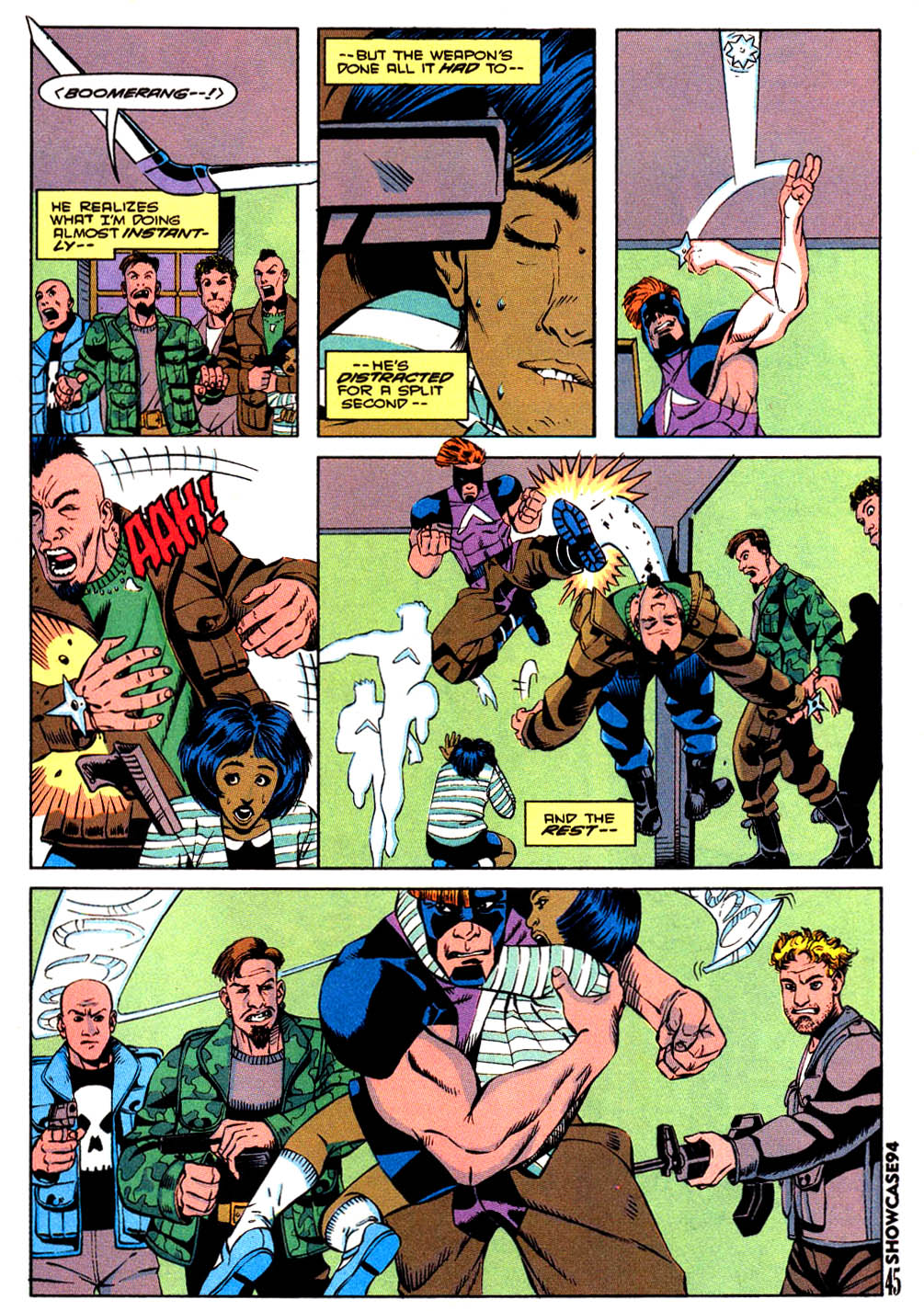 Read online Showcase '94 comic -  Issue #7 - 38