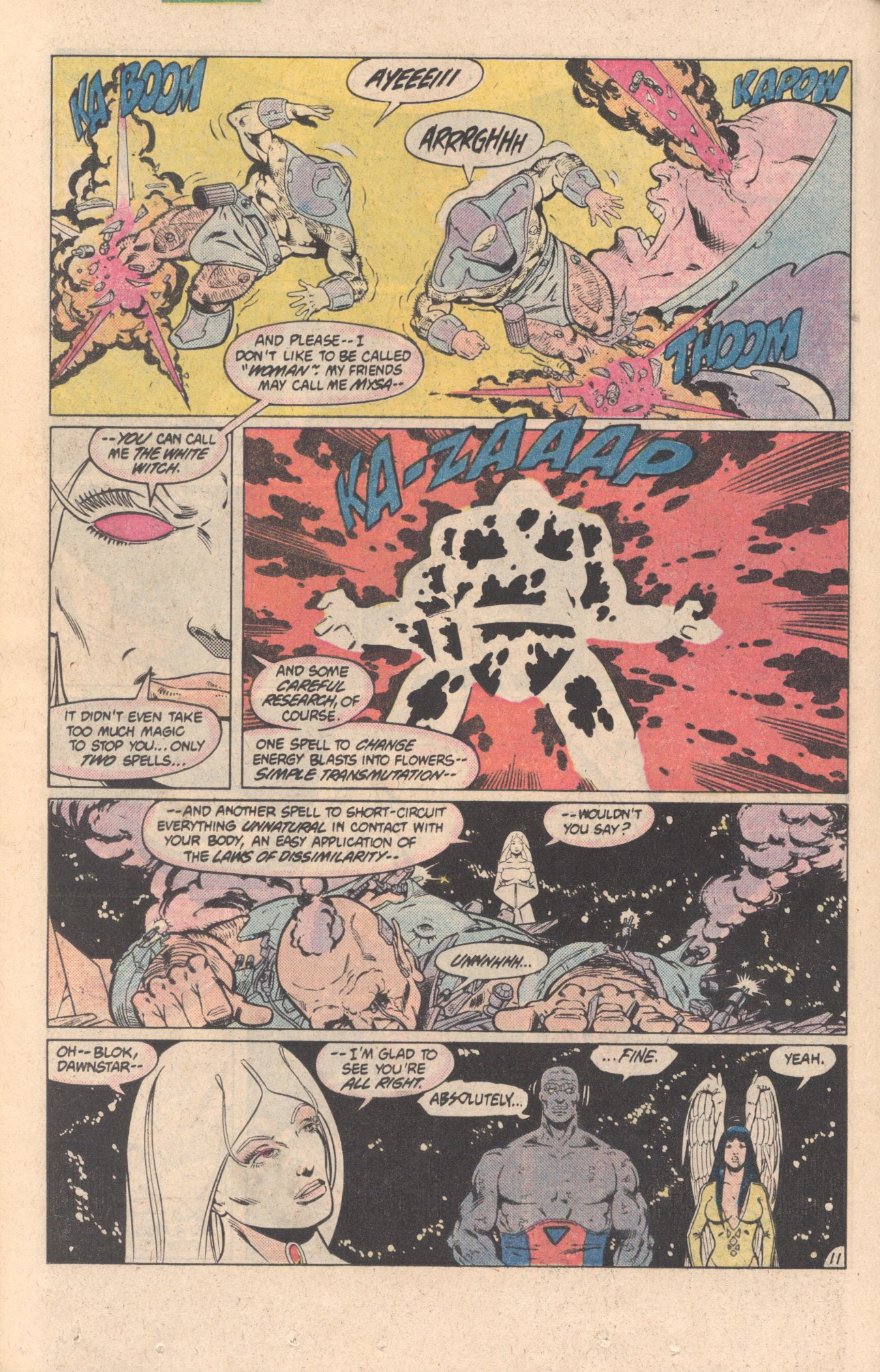 Legion of Super-Heroes (1980) 299 Page 11