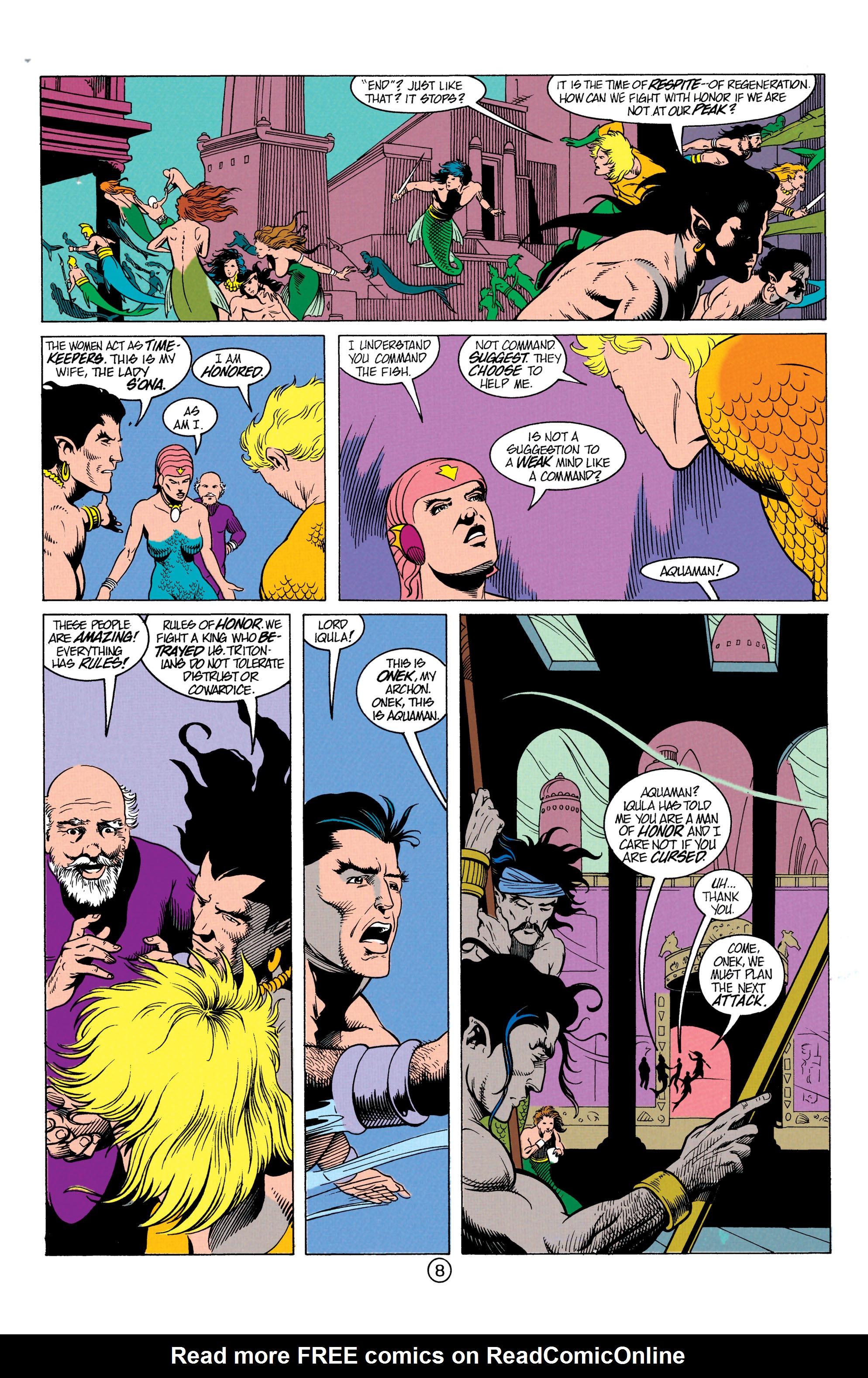 Read online Aquaman (1991) comic -  Issue #12 - 9