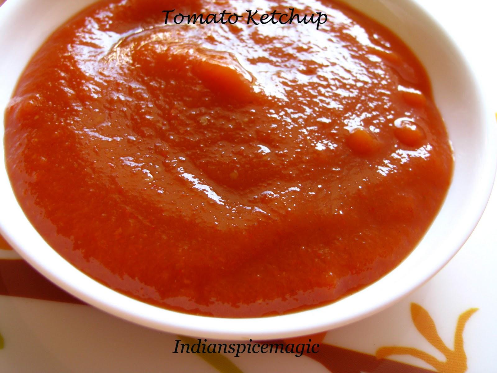 Indianspicemagic Homemade Tomato Sauce Ketchup