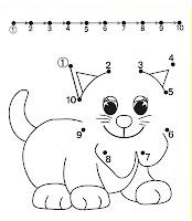 Preschool Worksheet Printables: Connect the Dots