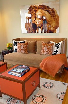 Sense And Simplicity 10 Ways To Decorate With Orange