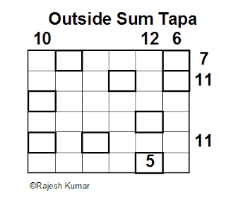 Logical Puzzle Series: Outside Sum Tapa