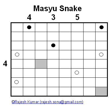 Logical Puzzle Series: Masyu Snake