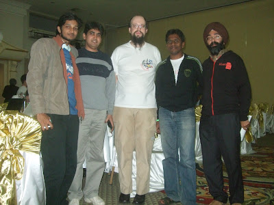 Team India With World Puzzle Champion @ 18th World Puzzle Championship 2009 Antalya Turkey