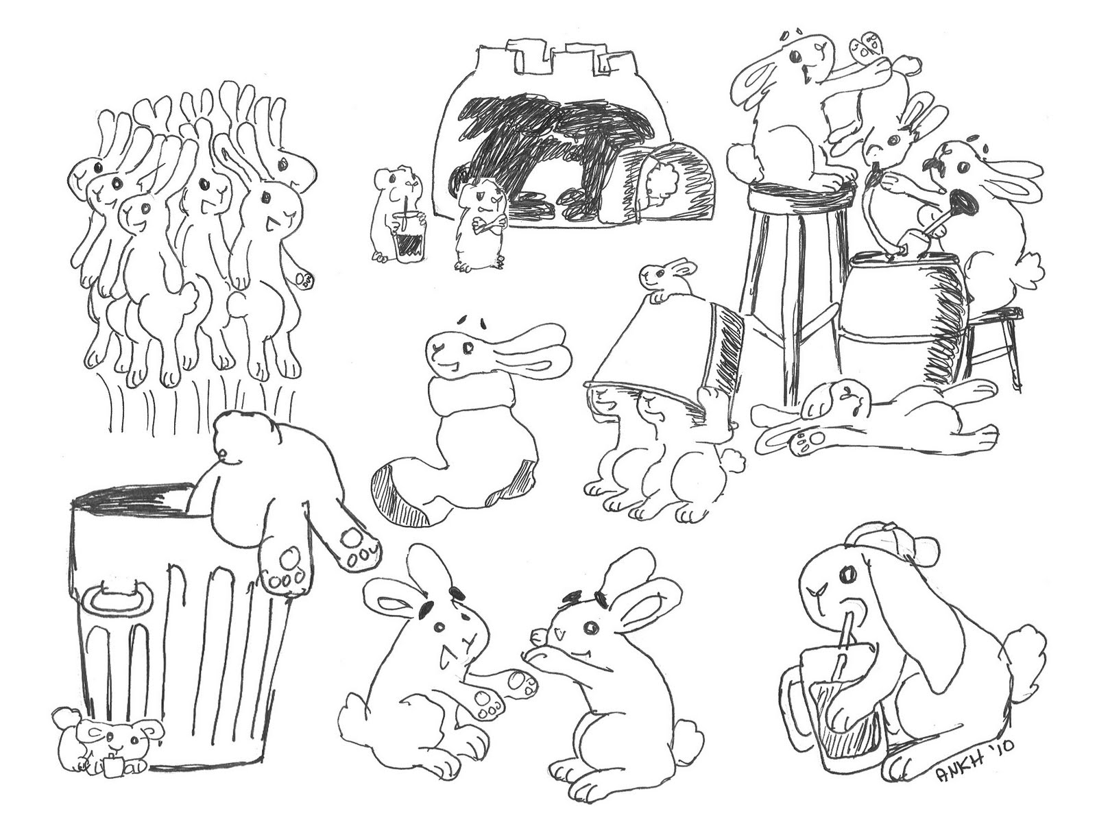 The Secret Life Of Guinea Pigs April