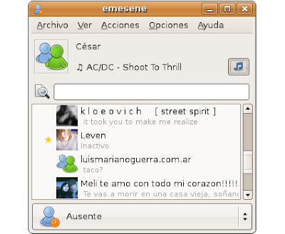 emesene ubuntu