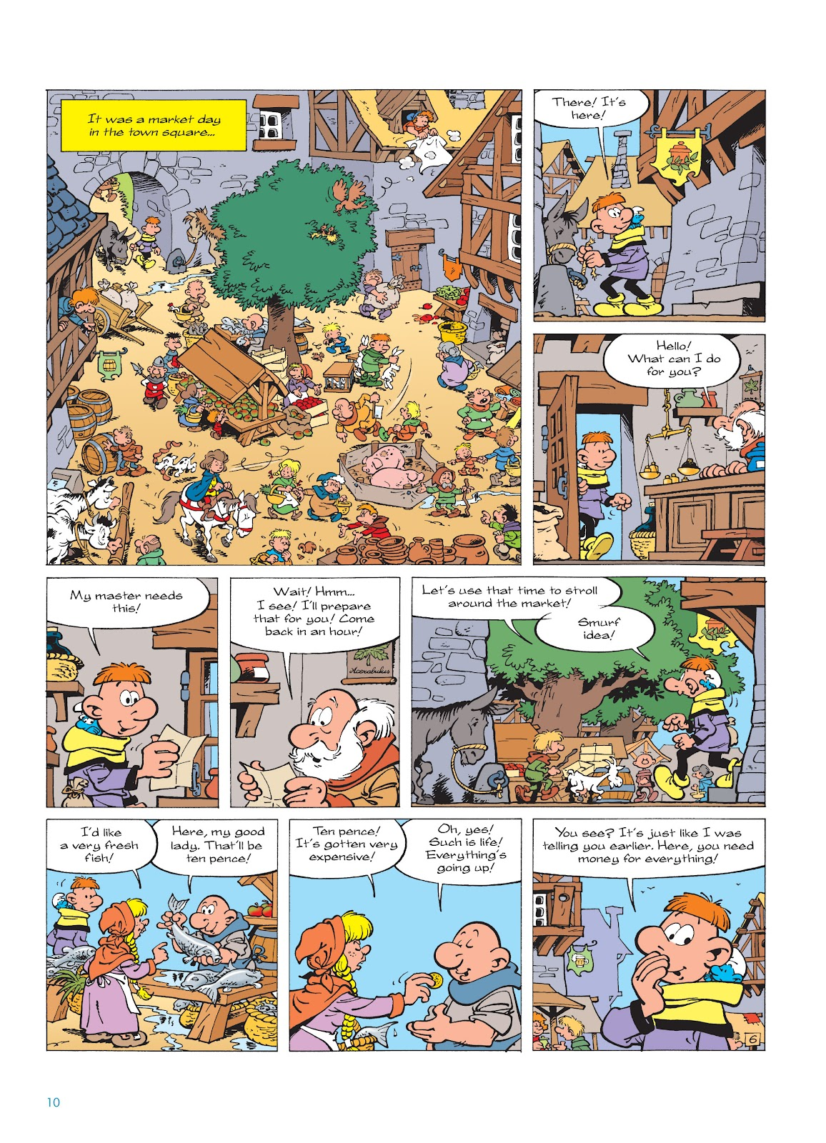 Read online The Smurfs comic -  Issue #18 - 10