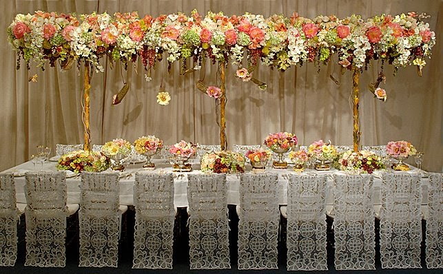 elegant chair covers & event decor dark gray chiavari wedding - to die for! | things festive weddings & events