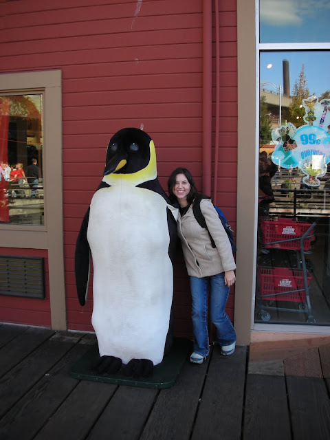 Seattle giant penguin