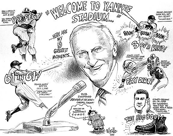 carnage and culture: Bob Sheppard, Voice of the Yankees